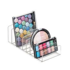 Rangement palettes de maquillage à 9 compartiments