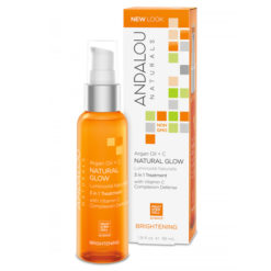ANDALOU NATURALS Argan Oil + vitamine C 3 en 1 Traitement éclat naturel