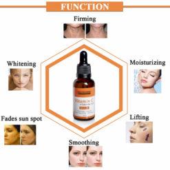 NEUTRIHERBS Vitamin C + Hyaluronique Acid Sérum usage