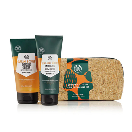 THE BODY SHOP Kit Énergisant Visage Homme Guarana & Café