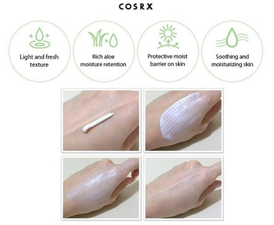 Corsrx creme solaire Aloe Soothing