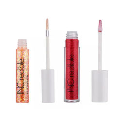 INC.REDIBLE Glittergasm Lip Gloss Pailletés