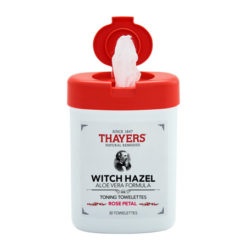 THAYERS Witch Hazel Lingettes tonifiantes