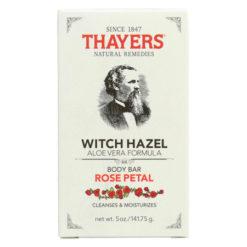 THAYERS Witch Hazel savon pétales de rose et aloès vera