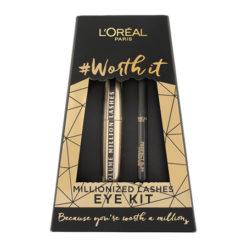 OREAL Worth It Millionized lashes Mascara & Eyeliner Duo