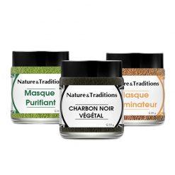 NATURE & TRADITIONS Pack de soin peau parfaite