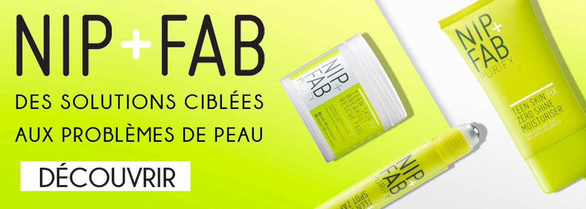 NIP+FAB Solution ciblées aux problèmes de peau