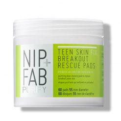 NIP+FAB Teen Skin Fix Disques Purifiants Nettoyant en Profondeur SOS boutons