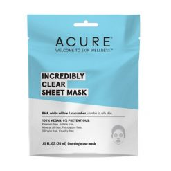 ACURE masque en tissu Incredibly clear