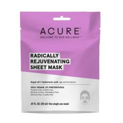 ACURE masque en tissu Radically Rejuvenating
