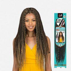 "BOBBI BOSS African Roots Bomba Box Crochet Braids 14"""
