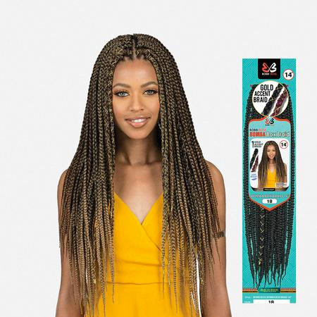 BOBBI BOSS African Roots Bomba Box Crochet Braids 14""
