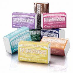 Dr. BRONNER'S Pure Castile Bar Soap savon en pain Bio