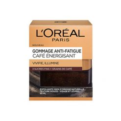 L'OREAL Gommage Energisant Anti-fatigue 3 sucres fins & grains de café