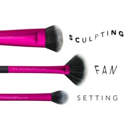 REAL TECHNIQUES Kit de 3 Pinceaux Sculpting Set