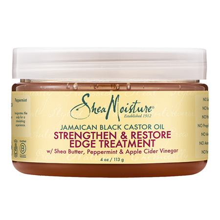 SHEA MOISTURE JBCO Strengthen Grow & Restore Edge Treatment Gel