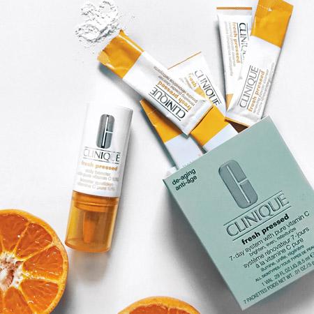 CLINIQUE Fresh Pressed système rénovateur à la vitamine C Pure