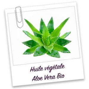 Huile vegetale bio Aloe Vera