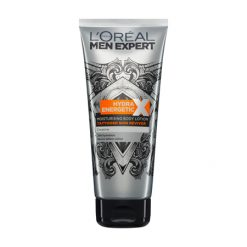 L'OREAL Men Expert Hydra Energetic Soin Corps Hydratant Spécial Peau Tatouée
