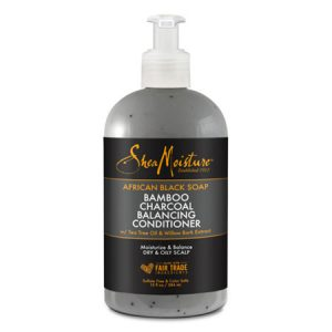 SHEA MOISTURE African Black Soap Bamboo Charcoal Balancing Conditioner