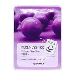 TONYMOLY Pureness 100 Masque en tissu au Collagène: Élasticité