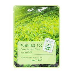 TONYMOLY Pureness 100 Masque en tissu au Thé vert: Apaisant
