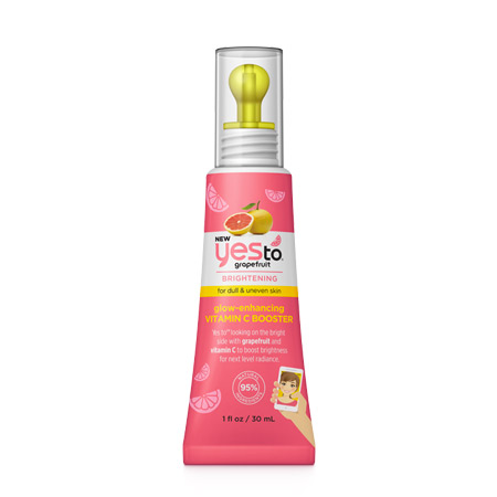 YES TO Grapefruit Glow Enhancing Rehausseur d'Éclat Booster Vitamine C