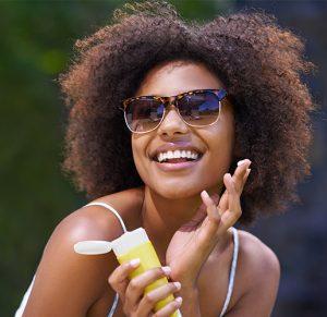 Utilisation de la crème solaire