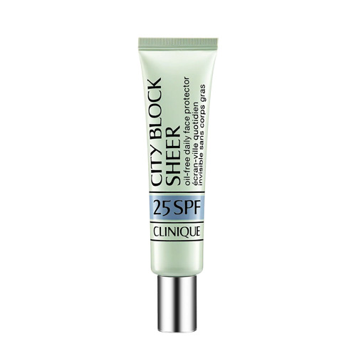 CLINIQUE City Block Sheer SPF25 crème Protection solaire invisible