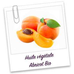 Huile végétale abricot bio