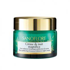 SANOFLORE Crème de Nuit Magnifica Soin Infusion Botanique
