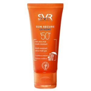 SVR Sun Secure Extreme Gel ultra mat multi-résistant SPF50+