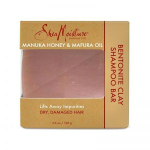 SHEA MOISTURE Manuka Honey & Mafura Oil Bentonite Clay Shampoo Bar