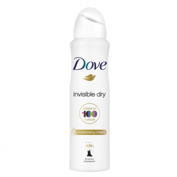 DOVE Déodorant spray 48h Invisible Dry