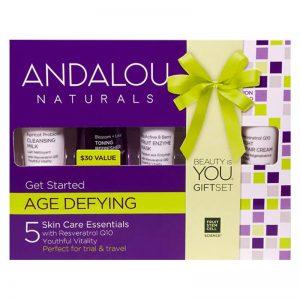 ANDALOU NATURALS Get Started Coffret de soins Age Defying au Resveratrol Q10