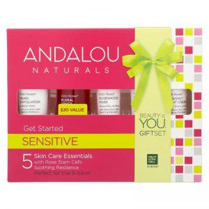ANDALOU NATURALS Get Started Coffret de soins Sensitive 1000Roses