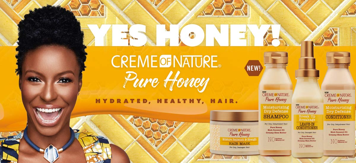 Creme of nature gamme complète