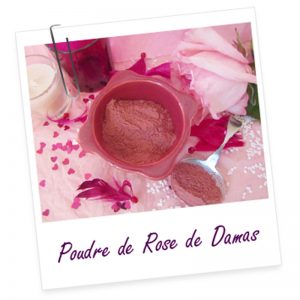 Poudre Ayurvédique de rose de Damas