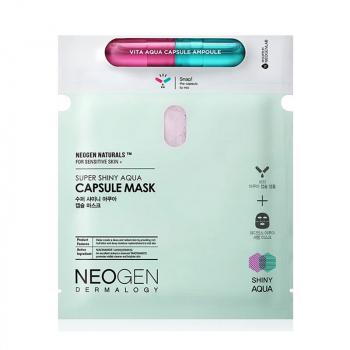 NEOGEN Super Shiny Aqua Capsule Masque en tissu