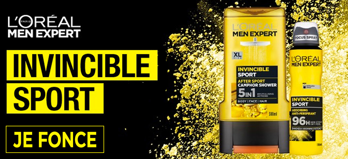 L'oreal Men Expert Invincible Sport