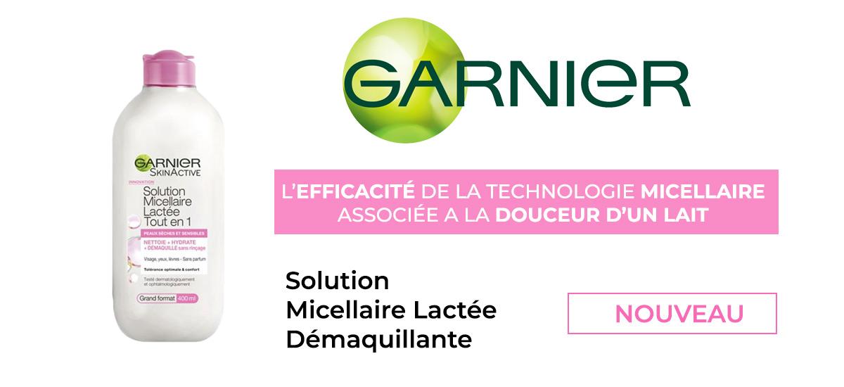 Solution micellaire lacté démaquillante