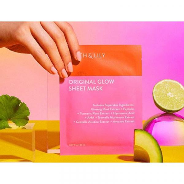 PEACH & LILY Original Glow masque en tissu