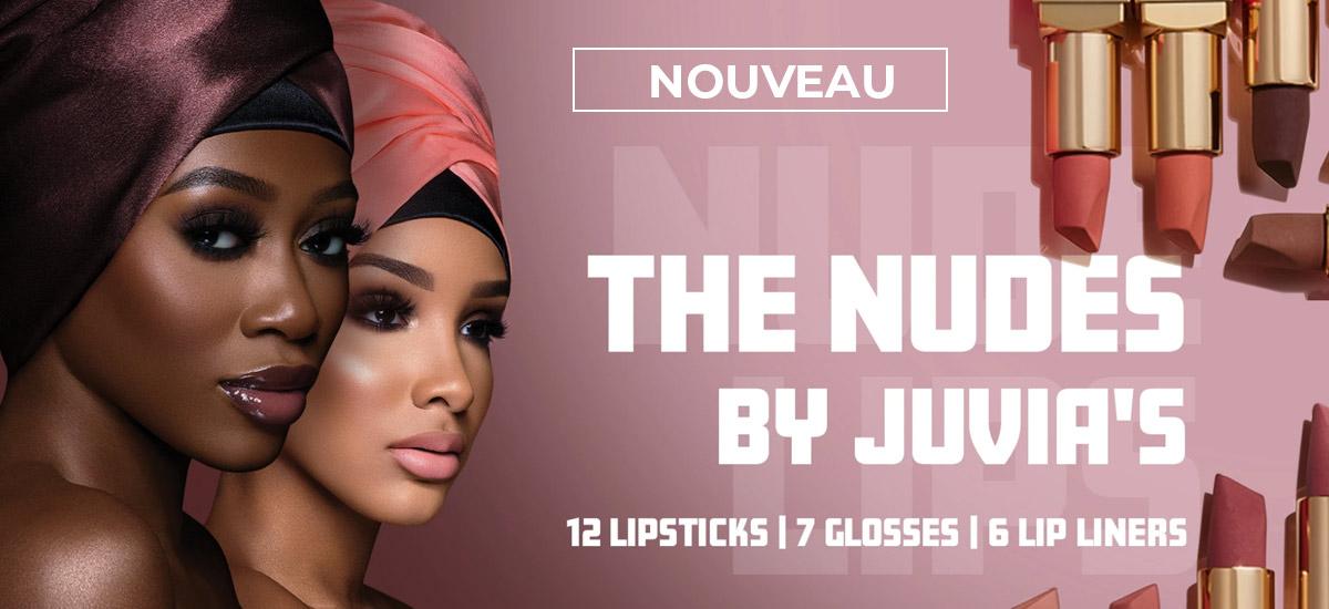 The nude by juvias lipstick lipgloss lipliner