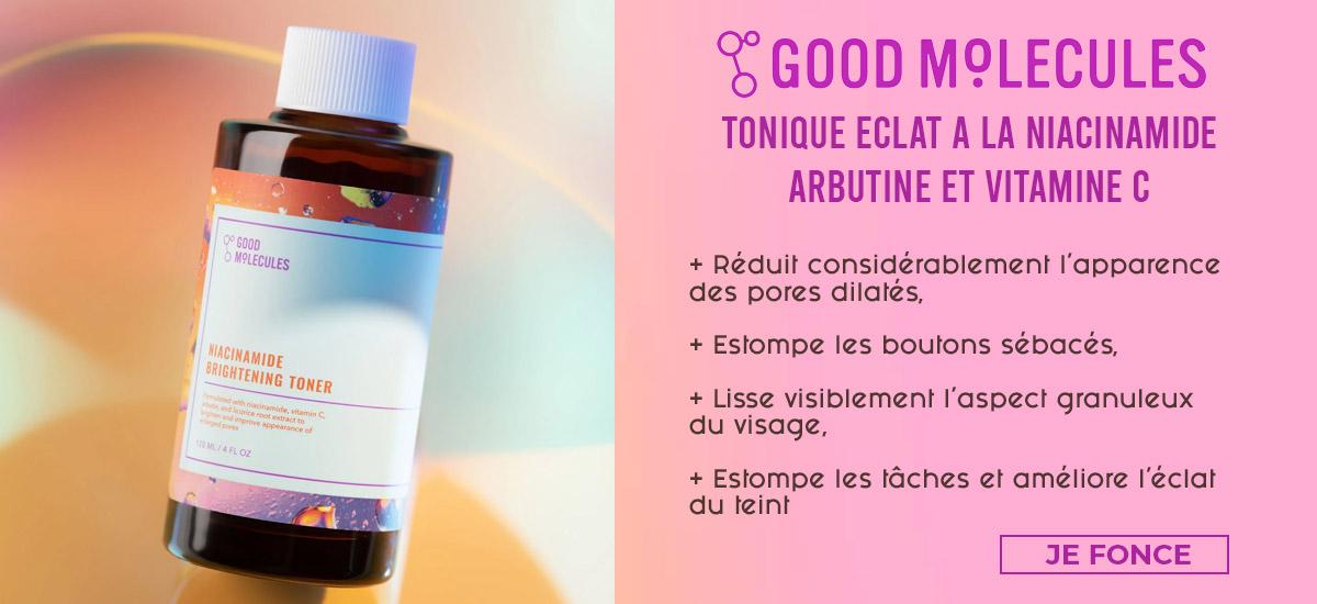 Good Molecule Tonique Eclat à la niacinamide arbutine vitamine C